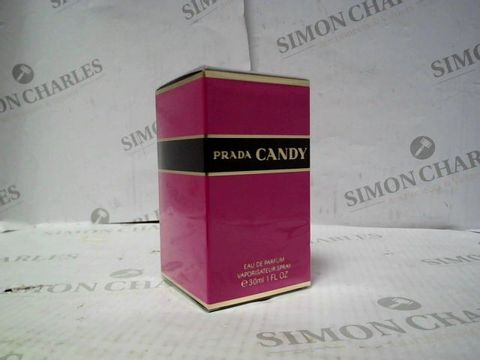 Lot 8079 BRAND NEW AND SEALED PRADA CANDY EDP 30ML