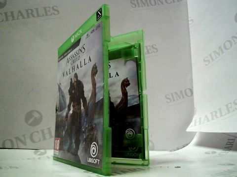 Lot 4068 XBOX ONE ASSASSIN'S CREED VALHALLA RRP £74.99