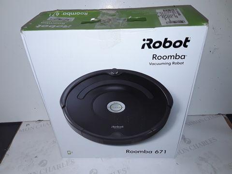 Lot 9119 I-ROBOT ROOMBA VACUUMING ROBOT