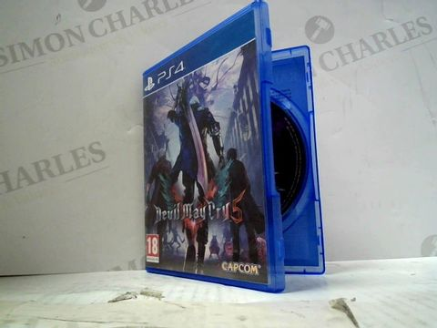 Lot 46 DEVIL MAY CRY 5 PLAYSTATION 4 GAME