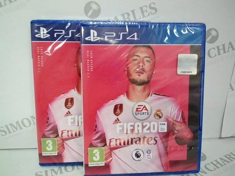 Lot 2361 BRAND NEW BOXED PS4 FIFA 20