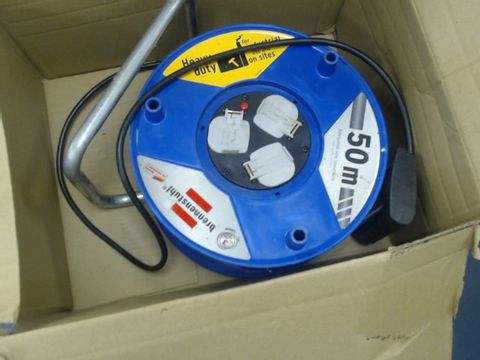 Lot 1420 BRENNENSTUHL COMPACT CABLE REEL 50M
