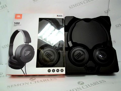 Lot 2329 BRAND NEW BOXED JBL BY HARMAN T450 ON EAR HEADPHONES