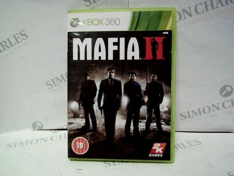 Lot 7449 MAFIA II XBOX 360 GAME