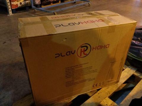 Lot 2129 BOXED PLAYHAHA PH075 GAMING CHAIR