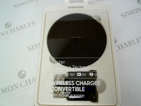 Lot 2402 BRAND NEW SAMSUNG WIRELESS CHARGER CONVERTIBLE