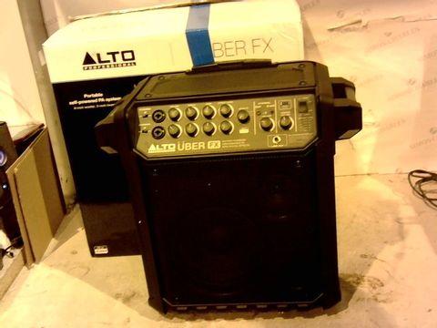Lot 12630 ALTO PORTABLE SELF-POWERED PA SYSTEM