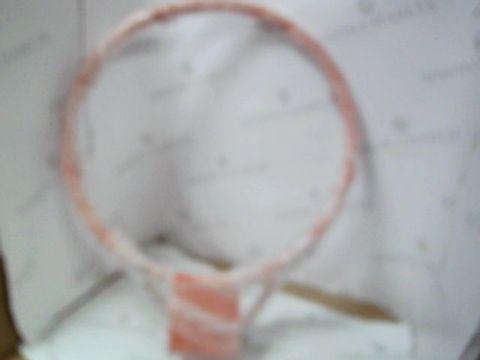 Lot 528 SPORTS HOOP & NET  EG. NETBALL, BASEBALL ETC - 50CM DIAMETER