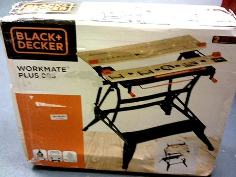 Lot 7269 BLACK+DECKER WORKMATE PLUS 825