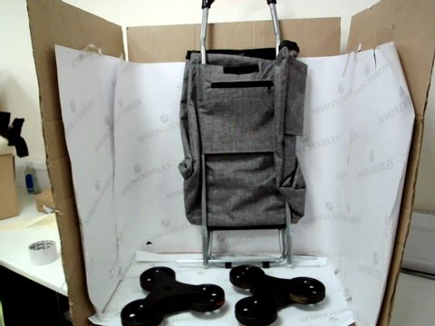 Lot 10033 SHOPPING TROLLEY - GREY