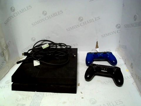Lot 176 SONY PLAYSATION 4 WITH 2 CONTROLLERS