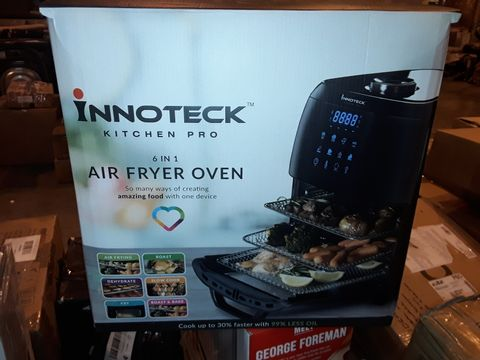 Lot 8317 BOXED INNOTECK KITCH PRO 1800W 12 LITRE AIR FRYER