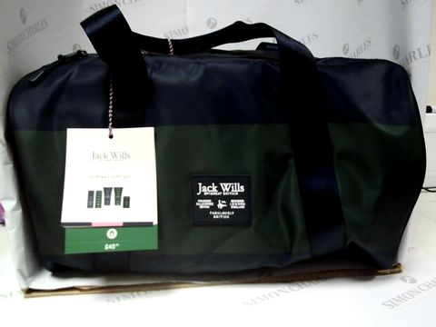 Lot 8149 JACK WILLS GYM BAG GIFT SET