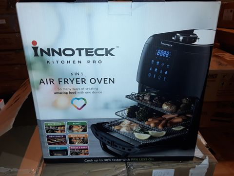 Lot 8264 BOXED INNOTECK KITCH PRO 1800W 12 LITRE AIR FRYER