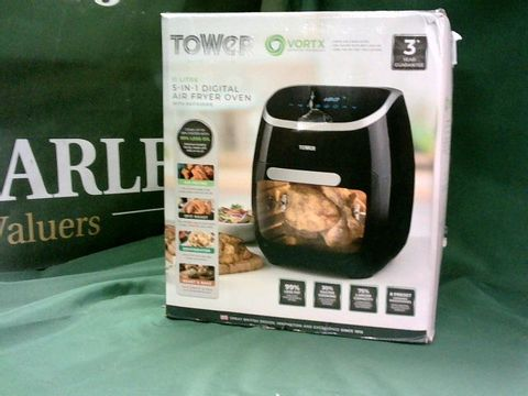 Lot 4076 TOWER 5-IN-1 DIGITAL AIR FRYER OVEN