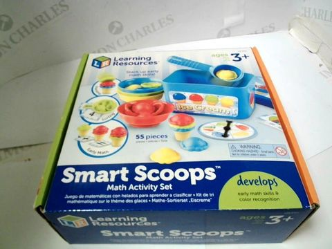 Lot 2469 KLEARNING RESOURCES SMART SCOOPS MATH'S ACTIVITY SET