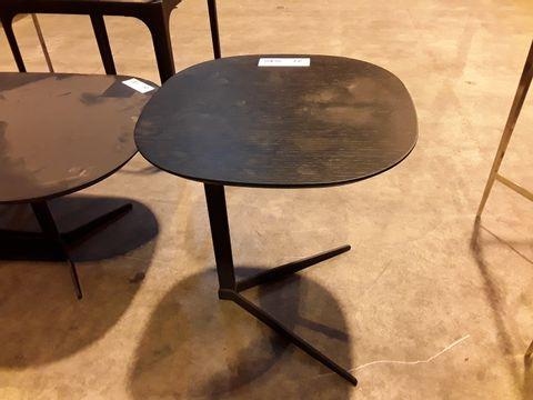Lot 27 DESIGNER BLACK ASH SIDE TABLE