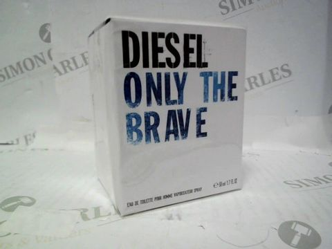 Lot 3009 BRAND NEW AND SEALED DIESEL ONLY THE BRACE EDT 50ML