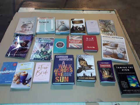Lot 4063 BOX OF ASSORTED BOOKS