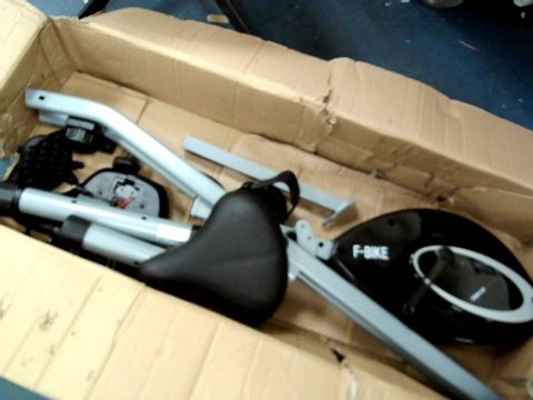 Lot 7603 ULTRASPORT FOLDABLE EXERCISE BIKE WITH PULSE SENSOR GRIPS
