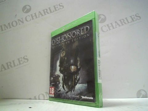 Lot 3039 DISHONOURED: DEFINITIVE EDITION XBOX ONE GAME