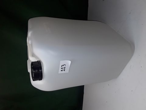 Lot 113 20L PLASTIC JERRY CAN