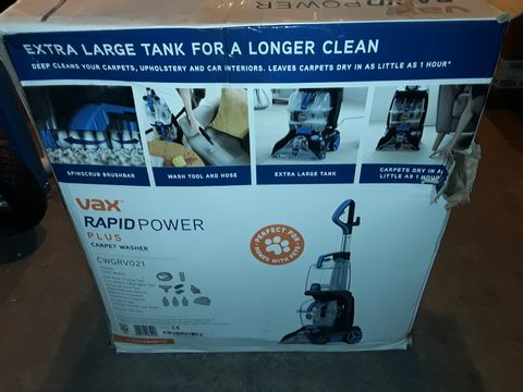 Lot 2445 VAX RAPID POWER PLUS CARPET WASHER