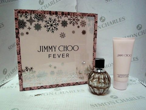 Lot 4398 JIMMY CHOO FEVER 60ML EAU DE PARFUM & 100ML BODY LOTION RRP £76.00