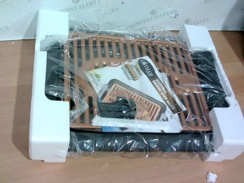 Lot 3379 GOTHAM STEEL COPPER NON-STICK ELECTRIC INDOOR GRILL