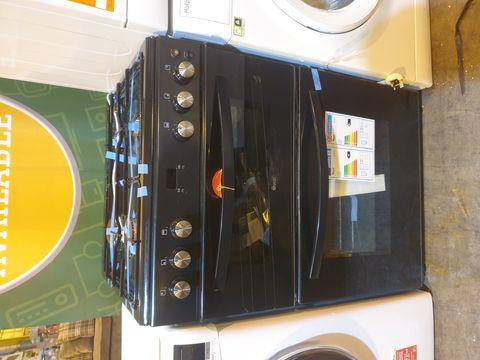 Lot 7013 SWAN SX15890B 60CM TWIN CAVITY GAS COOKER - BLACK