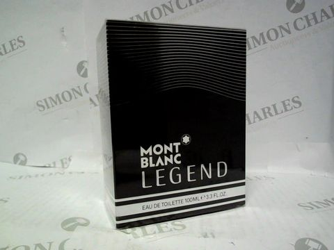 Lot 3049 BRAND NEW AND SEALED MONT BLANC LEGEND EDT 100ML