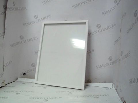 Lot 10006 WOODEN PICTURE FRAME - WHITE