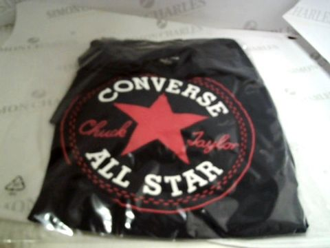 Lot 13057 DESIGNER CONVERSE ALL STAR T-SHIRT SIZE L