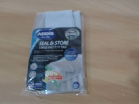 Lot 1049 ADDIS BEDDING LARGE VACUUM STORAGE BAG SET RRP £32.99