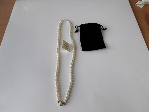 Lot 3258 GENUINE MALLORCA PEARLS NECKLACE