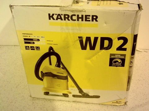 Lot 1425 KARCHER WD2 MULTI PURPOSE VACUUM CLEANER