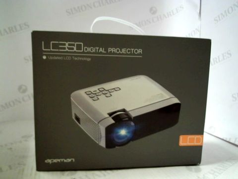Lot 3205 APEMAN LC350 LCD DIGITAL PROJECTOR