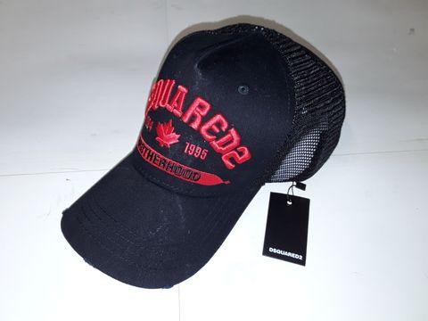 Lot 89 DSQUARED2 BROTHERHOOD TRUCKER BASEBALL CAP