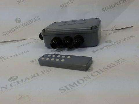 Lot 13025 KNIGHTSBRIDGE IPAV663G IP66 3G REMOTE SWITCH BOX, 230 V