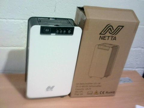 Lot 106 BOXED NETTA DEHUMIDIFIER