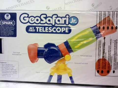 Lot 43 GEOSAFARI® JR MY FIRST TELESCOPE  4+ RRP £37.99