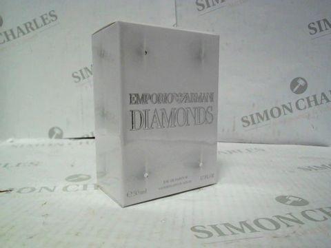 Lot 7231 BRAND NEW AND SEALED EMPORIO ARMANI DIAMONDS 50ML EDP