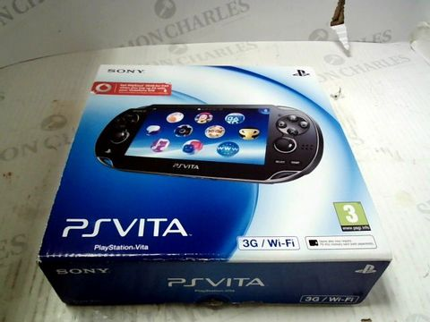 Lot 171 SONY PS VITA HANDHELD GAMES CONSOLE