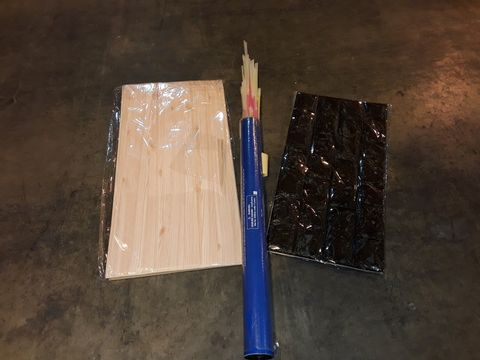 Lot 13552 PALLET OF ASSORTED BRAND NEW ADHESIVE INTERIOR DECORATIONS AND TUBES OF GLOW STICKS