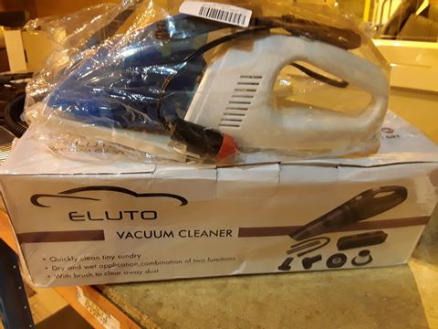 Lot 17 TWO 12V VACUUM CLEANERS