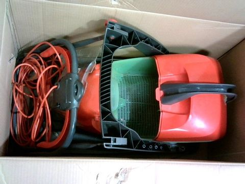 Lot 2874 FLYMO GLIDER COMPACT 330AX ELECTRIC HOVER COLLECT LAWN MOWER