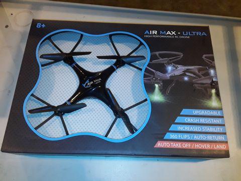 Lot 3247 AIR MAX ULTRA HIGH PERFORMANCE RC DRONE