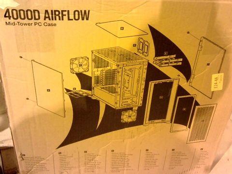 Lot 12154 4000D AIRFLOW MID TOWER PC CASE