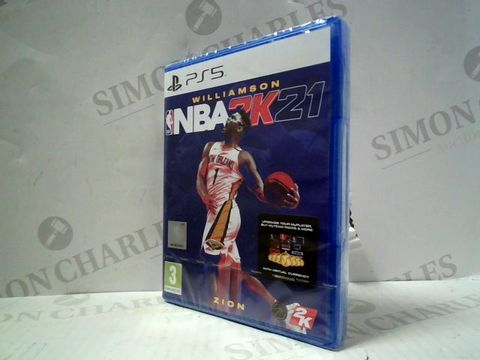 Lot 3 NBA 2K21 PLAYSTATION 5 GAME
