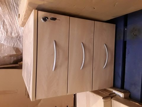 Lot 10308 CHEST OF 3 DRAWERS WITH LOCK